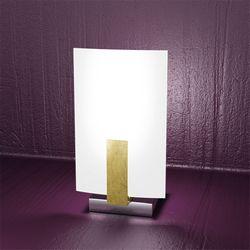 Lampada da Tavolo Top Light Wood Foglia Oro 1019/P FO