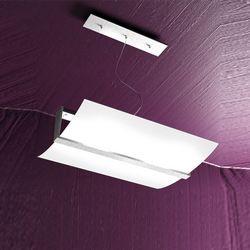 Sospensione Top Light Wood Foglia Argento 1019/S50 FA