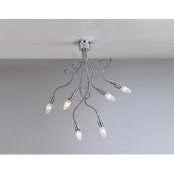 Plafoniera Top Light Winding Cromo 1046 PL 6