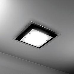 Plafoniera Top Light Tray Nera 1087 PL 45