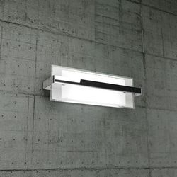 Lampada da Parete Top Light Cross Cromo 1106/AM CR