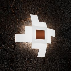 Plafoniera Top Light Tetris Color Corten 1121/55CO