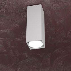Plafoniera Top Light Area Led Grigio 1127/PL25 GR