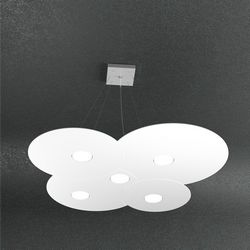 Sospensione Top Light Cloud Led Bianca 1128/S5 BI
