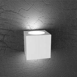 Lampada da Parete Top Light Plate Led Bianca 1129/AG BI