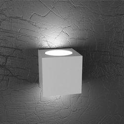 Lampada da Parete Top Light Plate Led Grigia 1129/AG GR
