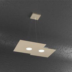 Sospensione Top Light Plate Led Sabbia 1129/S2 R SA