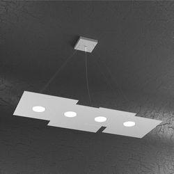 Sospensione Top Light Plate Led Grigia 1129/S4 R GR