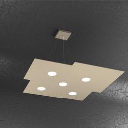 Sospensione Top Light Plate Led Sabbia 1129/S5 SA