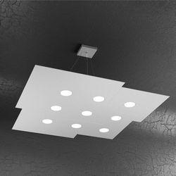 Sospensione Top Light Plate Led Grigia 1129/S9 GR