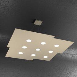 Sospensione Top Light Plate Led Sabbia 1129/S9 SA