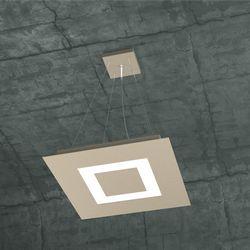 Sospensione Top Light Carpet Led Sabbia 1137/S40 SA