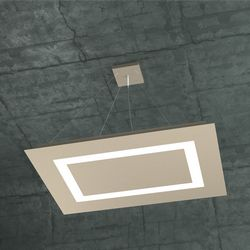 Sospensione Top Light Carpet Led Sabbia 1137/SRG SA