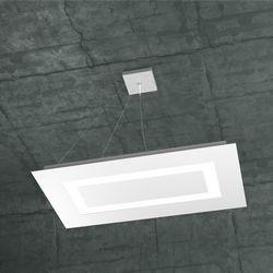 Sospensione Top Light Carpet Led Bianca 1137/SRM BI