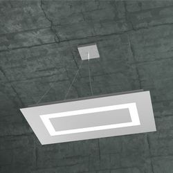 Sospensione Top Light Carpet Led Grigia 1137/SRM GR