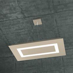 Sospensione Top Light Carpet Led Sabbia 1137/SRM SA