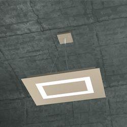 Sospensione Top Light Carpet Led Sabbia 1137/SRP SA