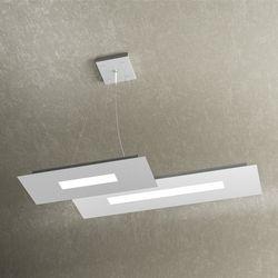Sospensione Top Light Wally Led Bianco-Grigio 1138/S2 BG