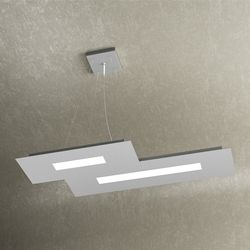 Sospensione Top Light Wally Led Grigia 1138/S2 Gr