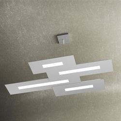 Sospensione Top Light Wally Led Grigia 1138/S4 GR