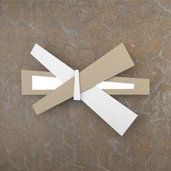 Plafoniera Top Light Ribbon Led Bianco-Sabbia 1139/A65 BS