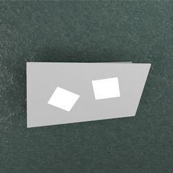 Plafoniera Top Light Note Led Grigia 1140/2 GR