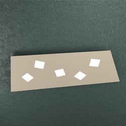 Plafoniera Top Light Note Led Sabbia 1140/5 SA