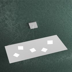 Sospensione Top Light Note Led Grigia 1140/S5 GR