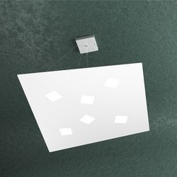 Sospensione Top Light Note Led Bianca 1140/S6 BI