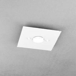 Plafoniera Top Light Path Led Bianco 1141/PL1 BI