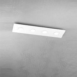Plafoniera Top Light Path Led Bianco 1141/PL4 R BI