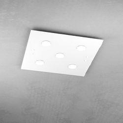 Plafoniera Top Light Path Led Bianco 1141/PL5 BI