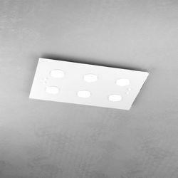 Plafoniera Top Light Path Led Bianco 1141/PL6 BI