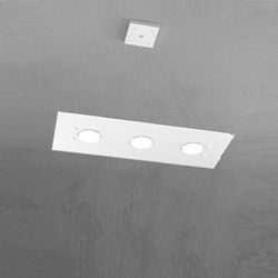 Sospensione Top Light Path Led Bianco 1141/S3 BI
