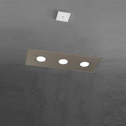 Sospensione Top Light Path Led Tortora 1141/S3 BI