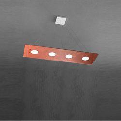Sospensione Top Light Path Led Foglia Rame 1141/S4 R FR