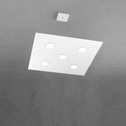 Sospensione Top Light Path Led Bianco 1141/S5 BI