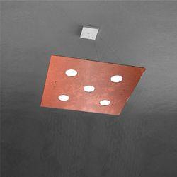Sospensione Top Light Path Led Foglia Rame 1141/S5 FR
