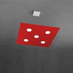 Sospensione Top Light Path Led Rosso 1141/S5 RO
