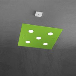 Sospensione Top Light Path Led Verde 1141/S5 VE