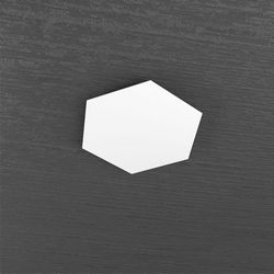 Plafoniera Top Light Hexagon Led Bianco 1142/1D BI