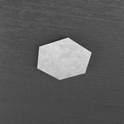Plafoniera Top Light Hexagon Led Foglia Argento 1142/1D FA