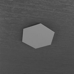 Plafoniera Top Light Hexagon Led Grigio Antico 1142/1D GA