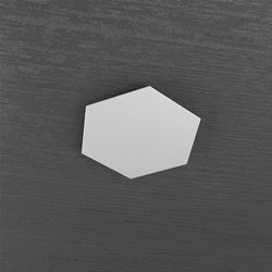 Plafoniera Top Light Hexagon Led Grigio 1142/1D GR