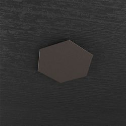 Plafoniera Top Light Hexagon Led Marrone 1142/1D MA