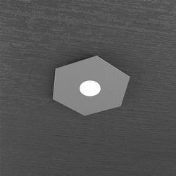 Plafoniera Top Light Hexagon Led Grigio Antracite1142/1L GA