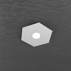 Plafoniera Top Light Hexagon Led Grigio 1142/1L GR