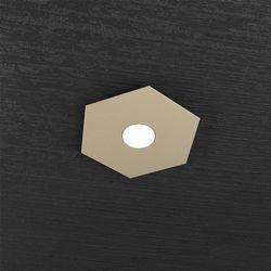 Plafoniera Top Light Hexagon Led Sabbia 1142/1L SA
