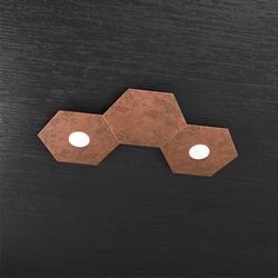 Plafoniera Top Light Hexagon Led Rame 1142/2L1D FR A1
