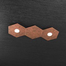 Plafoniera Top Light Hexagon Led Rame 1142/2L1D FR A2